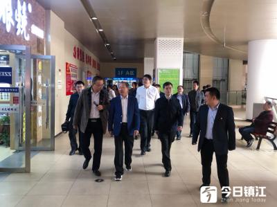 省委第二巡回指导组调研镇江市主题教育开展情况