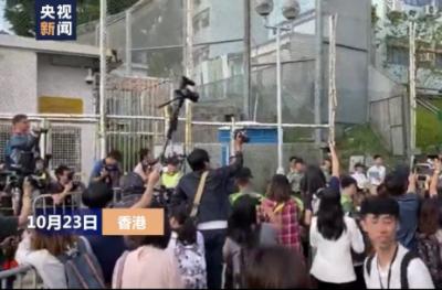 涉嫌在台杀害女友的香港居民陈同佳今日出狱 称愿返台自首