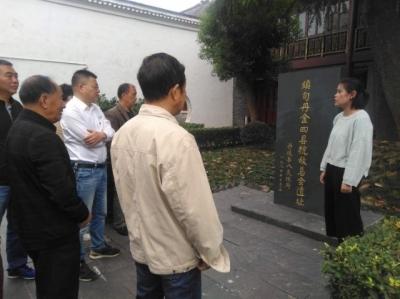 宝堰:高龄党员重温入党誓词