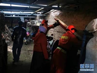 甘肃省夏河县地震造成21人受伤 目前3人住院治疗伤情平稳