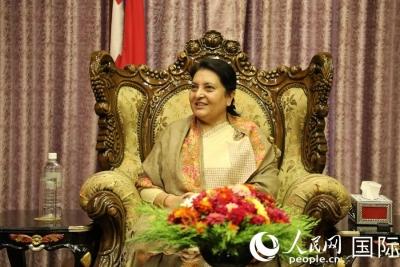 """""""尼中关系将达到新的历史高度""""——访尼泊尔总统比迪亚·德维·班达里"""
