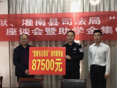 """镇江监狱民警情系苏北乡村  常态化开展""""党建+扶贫""""活动"""