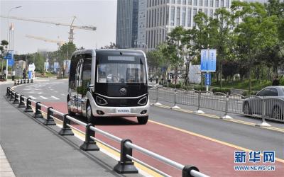 成都首台5G公交车正式投入运营