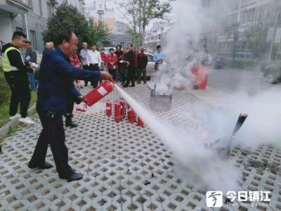 丹阳开展基层防灾减灾培训及应急演练