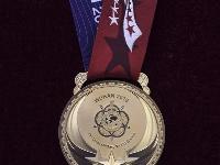 第七届世界军人运动会奖牌奖杯正式亮相