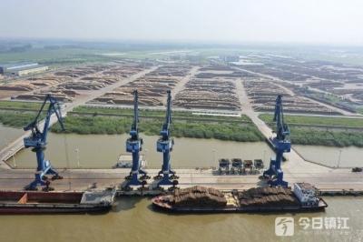 镇江新民洲力争建成长江流域最大的木材集中烘干基地 这些目标也在路上