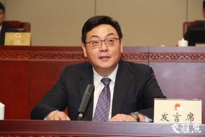 泰州市代市长朱立凡:为泰州发展多做贡献 为泰州人民多谋幸福