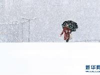 吉林长春大雪纷飞