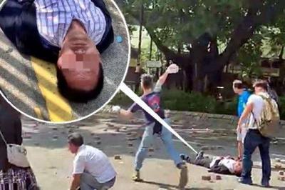 疑被暴徒击中头部的香港男子死亡 特区政府表示愤慨