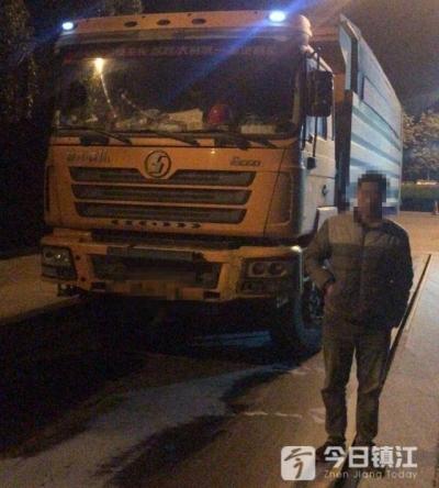 大货车超载近5倍敢上路,丹阳警方果断出手