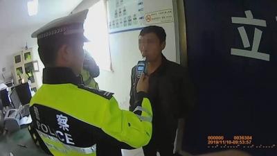心存侥幸  他因为二次酒驾被送进拘留所