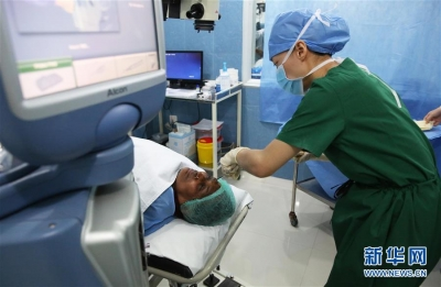 斯里兰卡光明行公益医疗活动在科伦坡举行