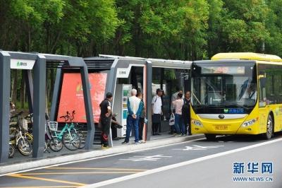 车来了,挤吗?上海公交推出车厢舒适度智能预报