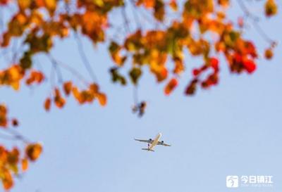 秋末初冬 赤山湖国家湿地公园生态美