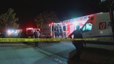 美国加州家庭聚会枪击事件:10人中枪已有4人死亡