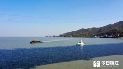 五峰山220KV电缆跨江改造施工展开 施工期江面实施管制或警戒