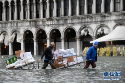 威尼斯再面临红色警戒!将再度遭洪水强风侵袭