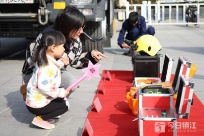 润州启动消防宣传月活动