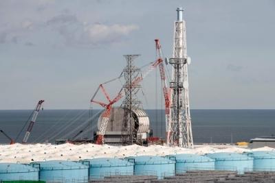 日本福岛核电站烟囱核污水或泄漏