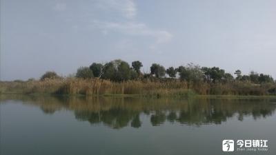 秋游赤山湖
