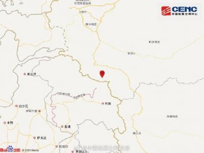 新疆喀什地區葉城縣發生3.7級地震