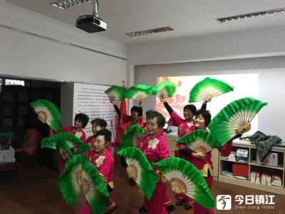 15个节目精彩纷呈80余居民观看 桃花坞社区文艺汇演庆元旦迎新年