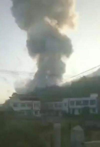湖南浏阳一烟花厂发生爆炸事故 致7死13伤