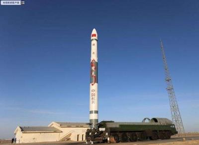 """祝贺!我国成功发射""""吉林一号""""高分02B卫星"""
