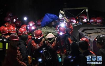 四川煤矿透水事故获救矿工:在井下吃皮带和泥巴