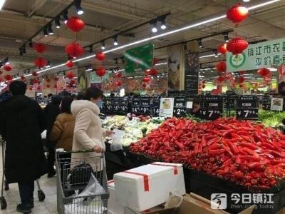 视频 | @镇江市民:莫慌!市场供应量充足 价格没涨还有跌