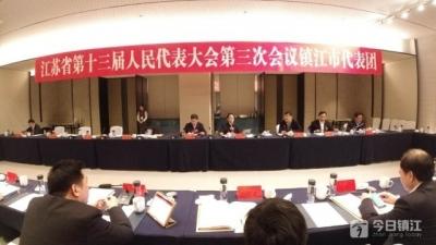 镇江代表团分组审议省政府工作报告  决胜高水平全面小康 推动高质量发展走在前列