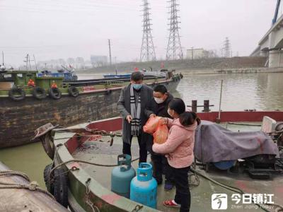 京杭运河镇江服务区智慧航道助力疫情防控保障水上安全