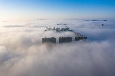 大雾警报!今晨淮北和江淮之间北部有雾,明晚江苏长江以北将迎2020年首场雪