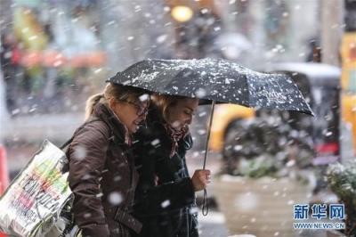 出行请注意!今明两天江苏省有一次较明显雨雪过程