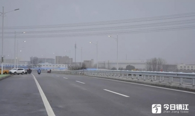 122省道丹阳拓宽改造段试通车