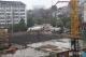 江南学校人防停车场今晨封顶 建成后可提供200余车位