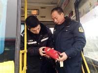新区交警交通联合开展 春节前客运车辆安全隐患排查