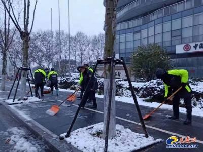 【暖新闻】11880余人、930余台机械车 南京2020年初雪 他们彻夜奋战 只为清晨道路通畅