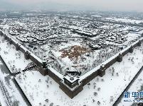 雪落太原古县城
