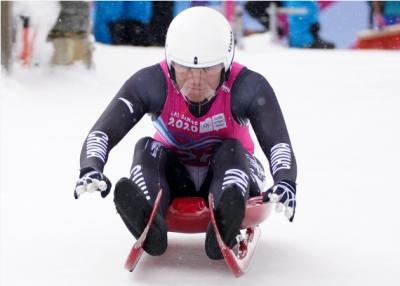 冬青奥男子单人雪橇拉脱维亚夺冠 中国独苗鲍振宇位列第十四