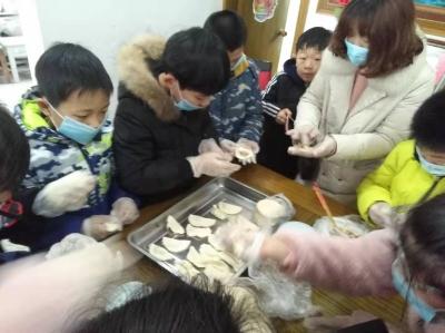 暖心!上党镇这个特殊家庭吃了一顿最有爱的团圆饺子