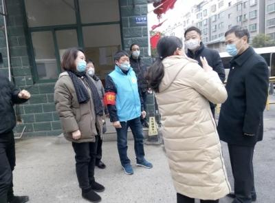 惠建林检查疫情防控工作时强调 坚决打赢疫情防控阻击战 守护好人民的生命和健康