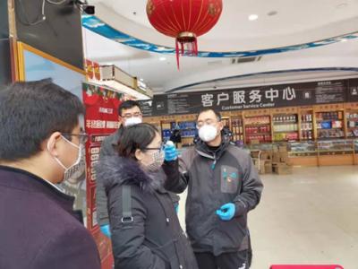 镇江市餐饮安全监督所检查食堂、餐饮企业防控工作