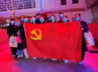 党旗飘扬在抗疫最前线!高校发挥基层党组织战斗堡垒作用抗击疫情
