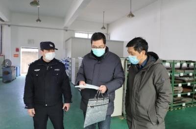 护航企业复工生产 扬中公安在行动