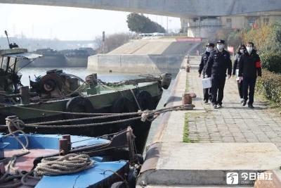 他们坚守镇江水路与铁路一线   各方支援安全有保障