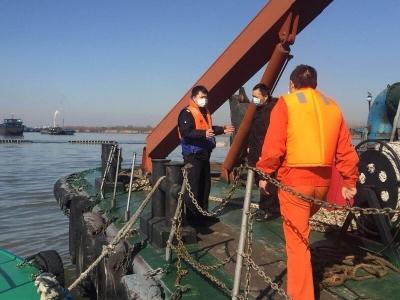 世业洲南岸疏浚工程正式复工  10艘工程船参与,20余万吨淤砂待清理