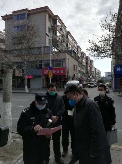 王文生赴丹阳督导检查社区疫情防控工作