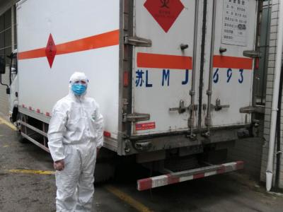 守好疫情防控最后一公里 新区闭环收集处置高感染性废物