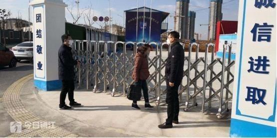 镇江市区在建工程无一复工